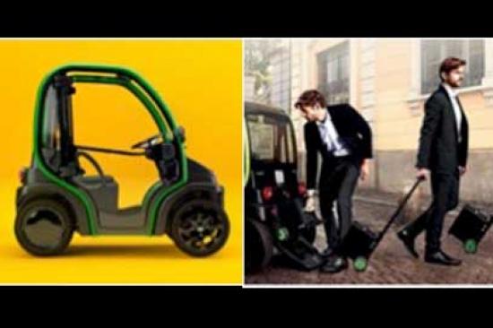 แบตเตอรี่พกพาสำหรับรถยนต์ไฟฟ้า