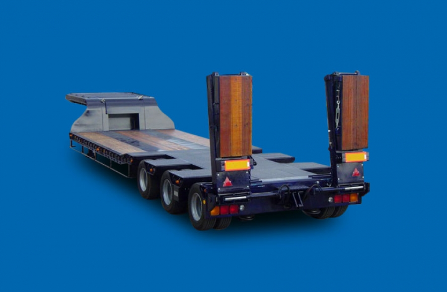 Lowbed Semi trailer 3 Axels