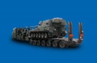 7-axle Tank Carrier in operation