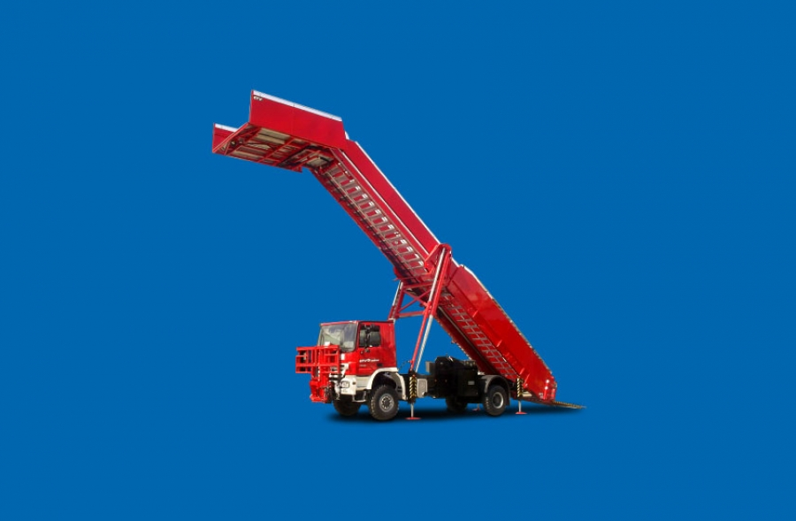 Rescue & Evacuation Stairs Truck