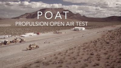 Hyperloop 1 Propulsion Open Air Test